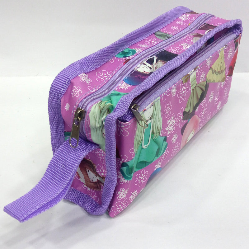 Happy Girl Print Pen & Pencil Bag - BestP : Best Product at Best Price
