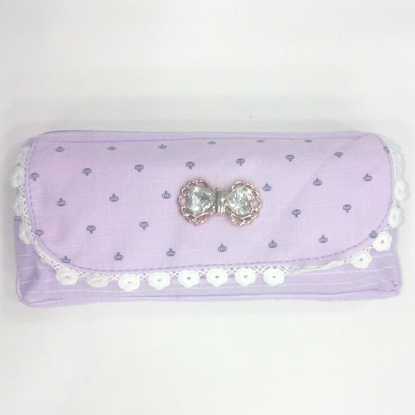 Lovely Diamond Stud Printed Pen & Pencil Bag - Best Price Company India