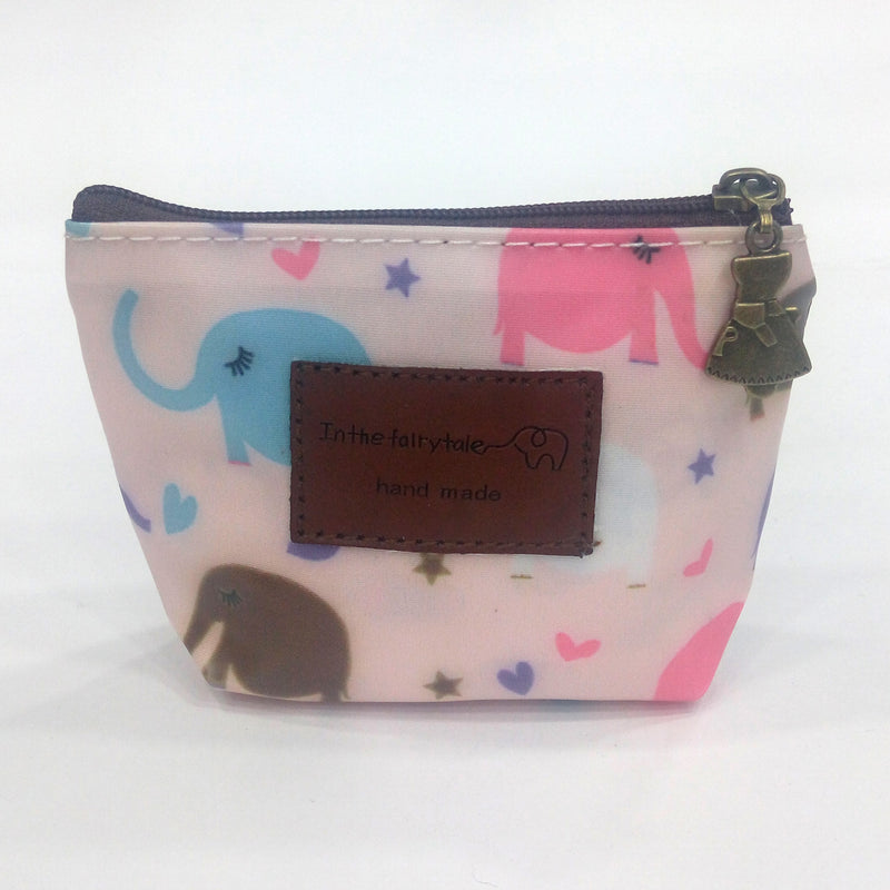 Elephant Print Coin Pouch - BestP : Best Product at Best Price