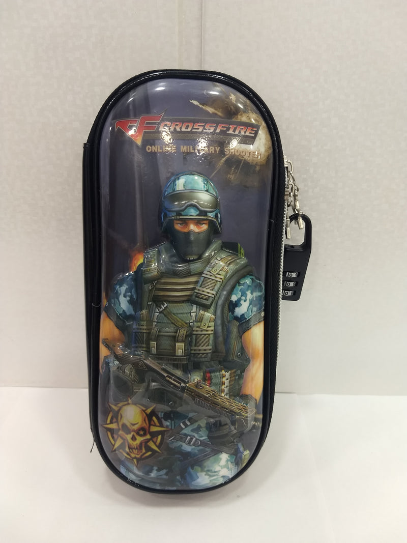 Crossfire Military Soldier Pen & Pencil Box/Case - BestP : Best Product at Best Price