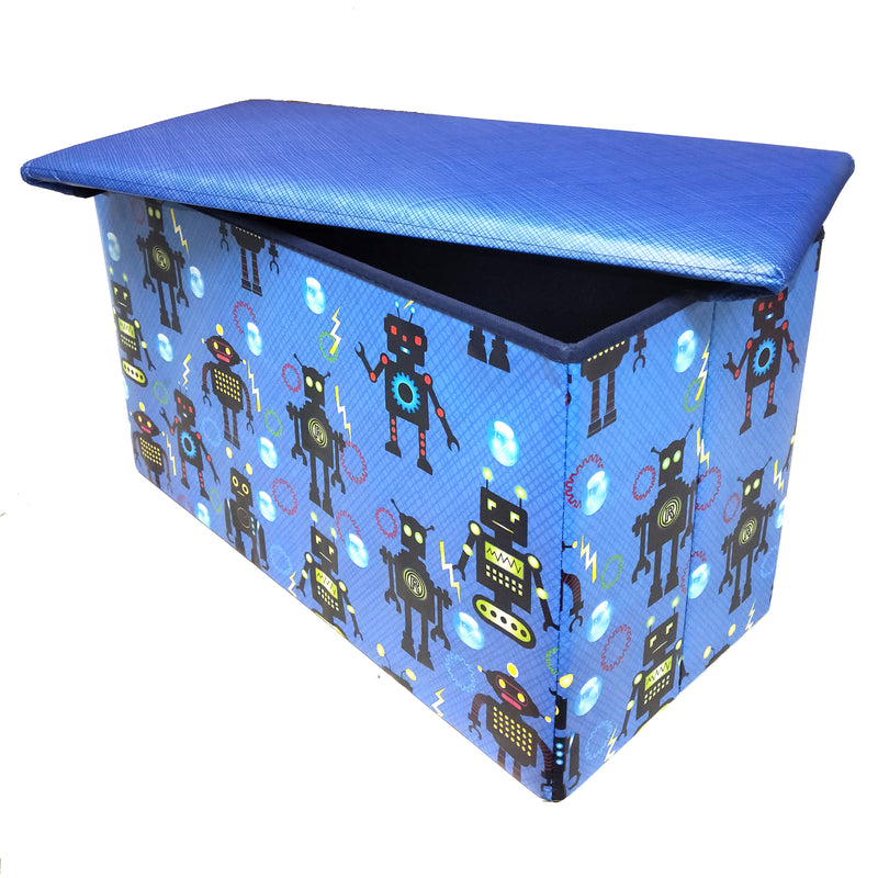 BestP Printed Storage Box | Folding Storage Box | Under Lid Storage with Padded Seat - BestP : Best Product at Best Price