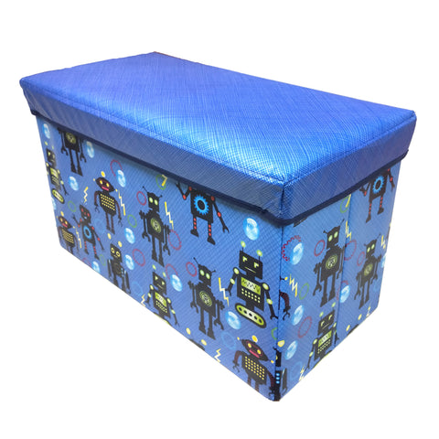BestP Printed Storage Box | Folding Storage Box | Under Lid Storage with Padded Seat - Best Price Company India