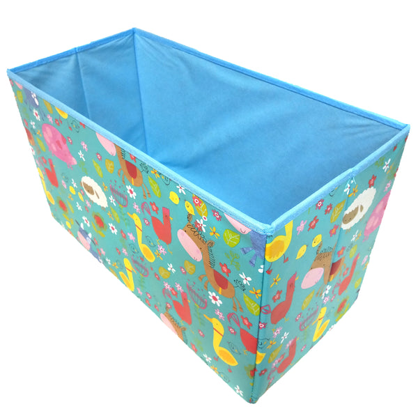 BestP Cartoon Print Storage Box | Folding Storage Box | Under Lid Storage with Padded Seat - Best Price Company India