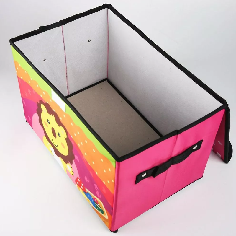 Cartoon Print Folding Storage Box - BestP : Best Product at Best Price