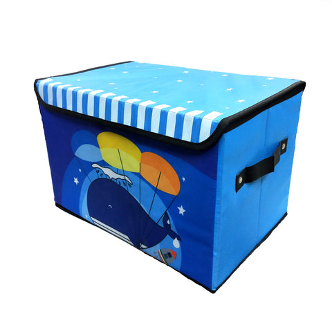 Whale Print Folding Storage Box - BestP : Best Product at Best Price