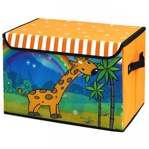 Giraffe Print Folding Storage Box - Best Price Company India