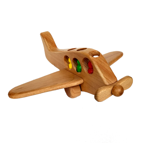 BestP Wooden Pushing Airplane - BestP : Best Product at Best Price