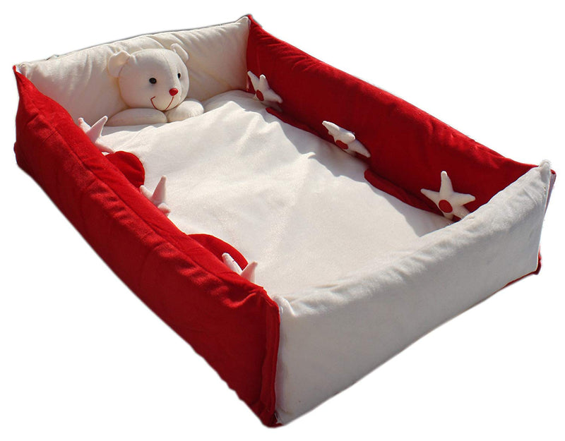 BestP Baby Toy Bed (Red) - BestP : Best Product at Best Price