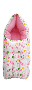 BestP Baby Sleeping Bag (White & Blush) - BestP : Best Product at Best Price
