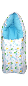 BestP Baby Sleeping Bag (White & Aqua) - BestP : Best Product at Best Price