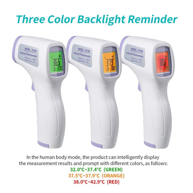 Thermal Scanning  systems Non-Contact Infrared Digital Thermometer - BestP : Best Product at Best Price