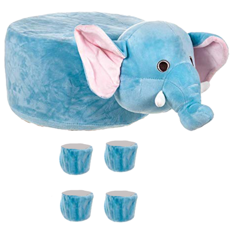 Animal Stool Cover (Elephant) - BestP : Best Product at Best Price