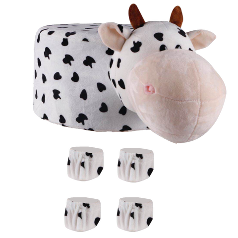 Animal Stool Cover (Cow) - Best Price Company India