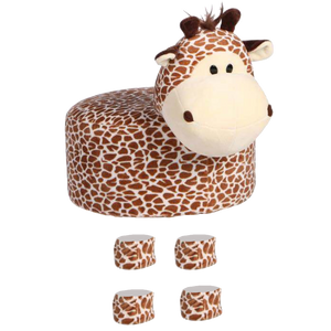 Animal Stool Cover (Giraffe) - BestP : Best Product at Best Price