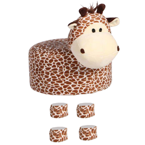 Animal Stool Cover (Giraffe) - Best Price Company India