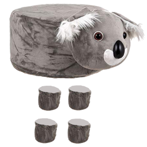 Animal Stool Cover (Koala) - BestP : Best Product at Best Price