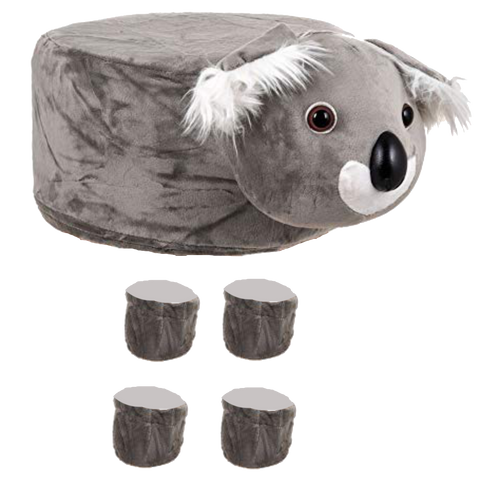 Animal Stool Cover (Koala) - Best Price Company India