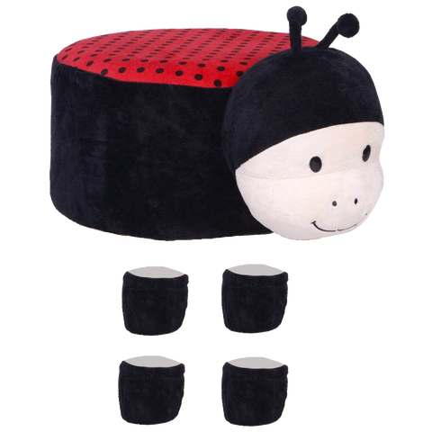 Animal Stool Cover (Ladybug) - Best Price Company India