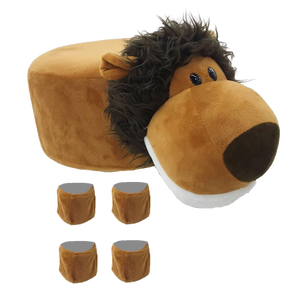 Animal Stool Cover (Lion) - BestP : Best Product at Best Price