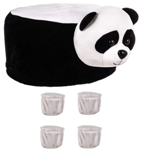 Animal Stool Cover (Panda)