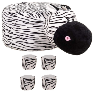 Animal Stool Cover (Zebra) - Best Price Company India