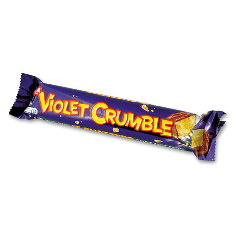 Photo of a Nestle Violet Crumble Bar in wrapper - Candy Of Oz