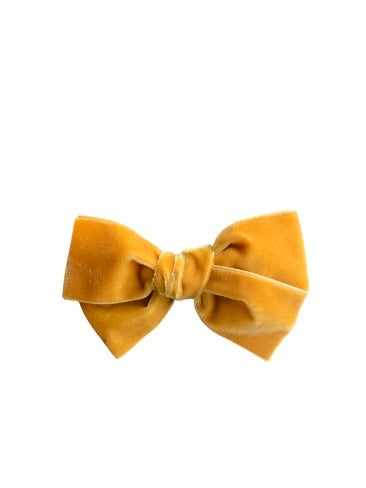 Velvet bow (HONEY)