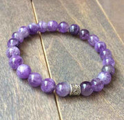 Stack Crystal Bracelets | Rose Quartz & Amethyst - UNLOCK YOUR CHAKRA