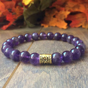 Amethyst Crystal Bracelet - UNLOCK YOUR CHAKRA