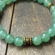 Aventurine Crystal Bracelet - UNLOCK YOUR CHAKRA