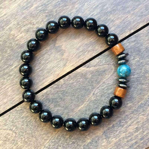 bracelets with healing stones - unlock your chakra