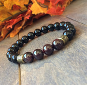Couple Bracelets | Garnet - UNLOCK YOUR CHAKRA
