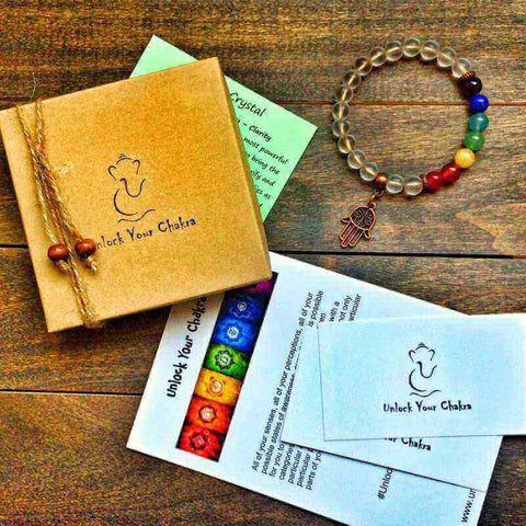 matching bracelet - UNLOCK YOUR CHAKRA