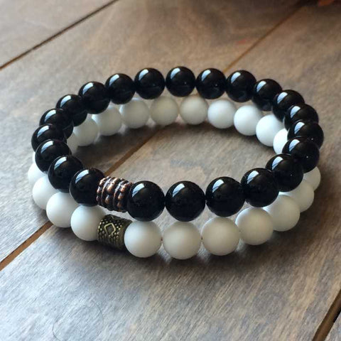 Stone Beaded Bracelets | Ying Yang - UNLOCK YOUR CHAKRA
