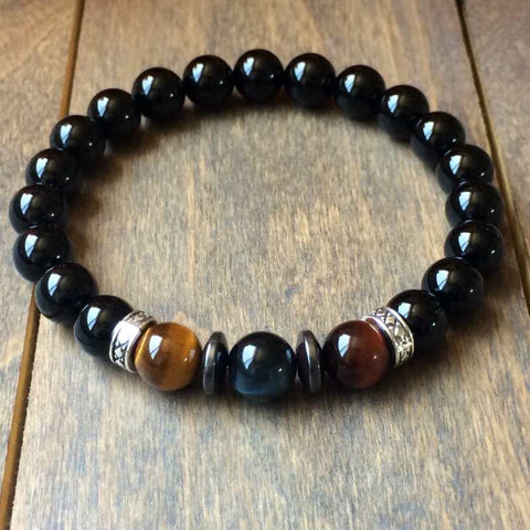 Tiger's Eye Bracelet - Hys - UNLOCK YOUR CHAKRA