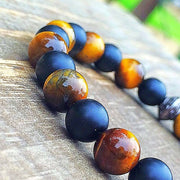 Tigers Eye Stone Bracelet | Tiger Spirit - UNLOCK YOUR CHAKRA