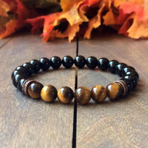 Tiger's Eye Bracelet | Unlock Your Chakra - UNLOCK YOUR CHAKRA