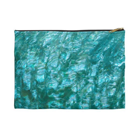 Sea Mist Abalone Accessory Pouch