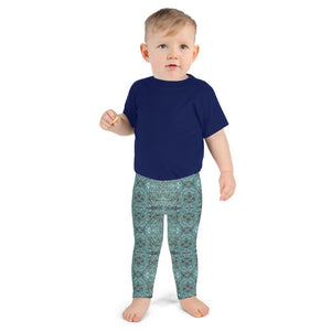 Sedona Turquoise Mosaic Kid's Leggings