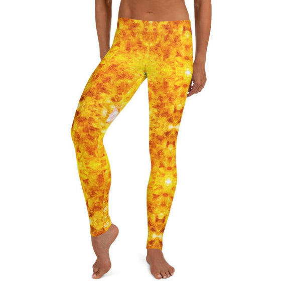 Citrine Crystal Cluster Leggings