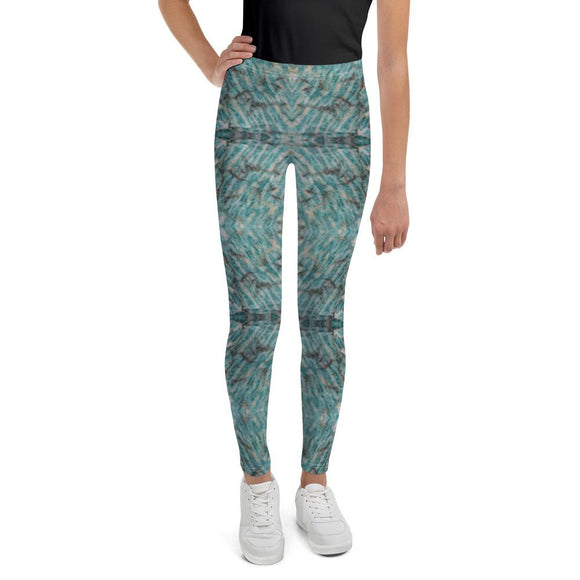 Sedona Turquoise Mosaic Youth Leggings