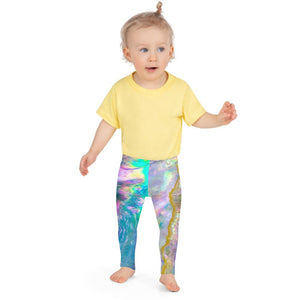 Pastel Abalone Kids' Leggings