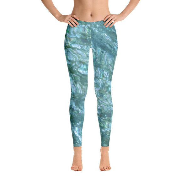 Sea Mist Abalone Leggings
