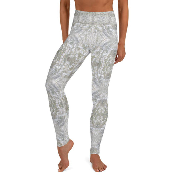Mother of Pearl Mosaic Yoga Leggings