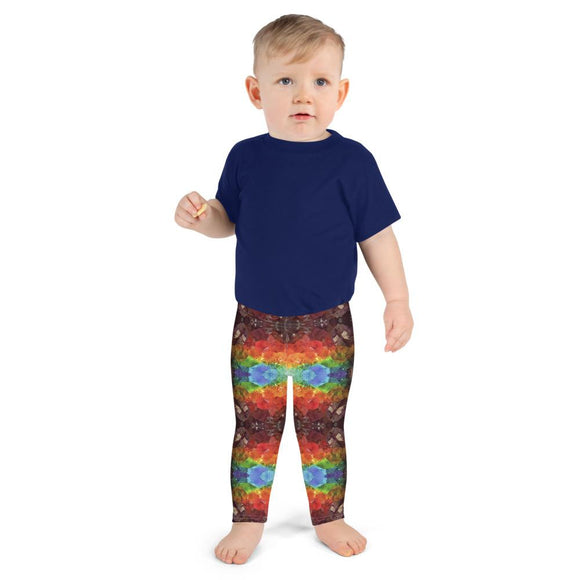 Rainbow Amethyst Crystal Kids' Leggings