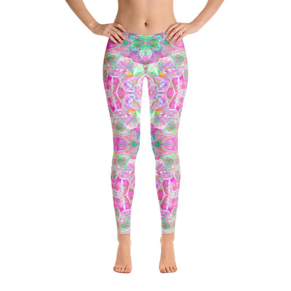 Pink Auratini Quartz Leggings