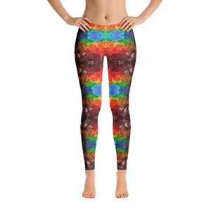 Rainbow Amethyst Crystal Leggings