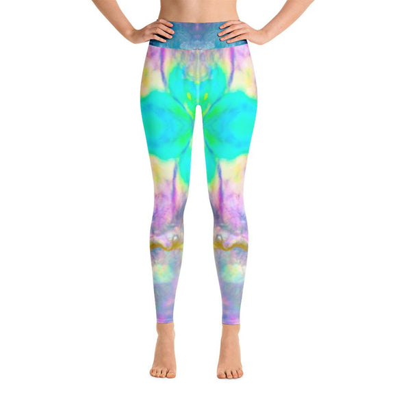 Pastel Abalone Synergy Yoga Leggings