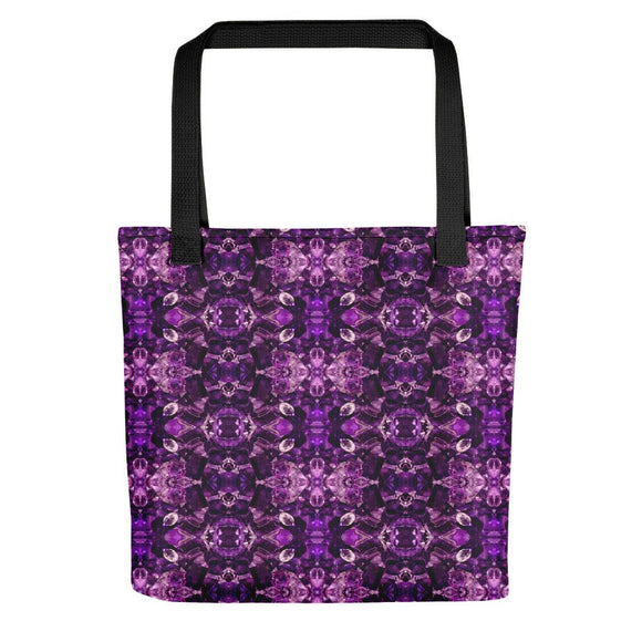 Amethyst Facets Tote