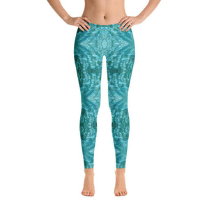 Sea Mist Abalone Mosaic Leggings